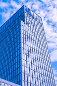 Offices With Sky Reflection