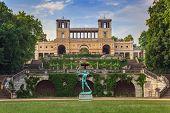 Orangery Palace in Park Sanssouci park