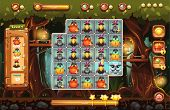 The Screen Playing Field For The Game