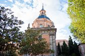 San Andres Church On A Sunny Spring Day In La Latina District, Madrid