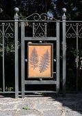 Gate In Soller Botanic Garden