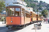 Tram In Port De Soller Mallorca