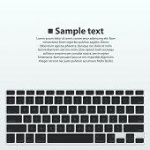 Silhouette keyboard