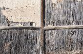 Wall of rural barn