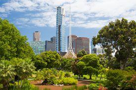 stock photo of garden-art  - Melbourne - JPG
