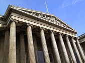 stock photo of british culture  - The British Museum based in London - JPG