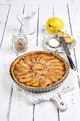 stock photo of tarts  - French pastry with apple  - JPG