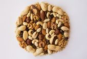 picture of pine nut  - Assorted nuts  - JPG