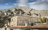 image of stone house  - rustic houses - JPG