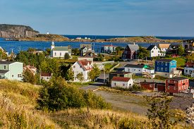 pic of trinity  - The colorful fishing village of Trinity - JPG
