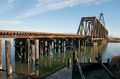 Railroad Bridge Across Swinomish Channel