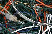 used copper wiring