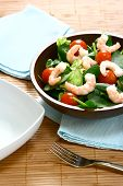 Prawn And Fresh Salad