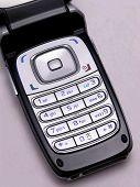 Telefone celular flip