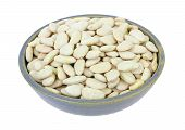 Large Lima Beans In Bowl