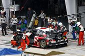 Japão - junho: Super GT 2008 Round 4 no Japão, Malásia