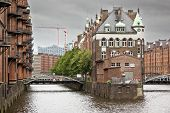 An image of the nice Wasserschloss in Hamburg Germany
