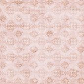 Pink Damask Seamless Texture