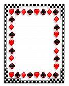 Fondo 3D de juegos de cartas juegos