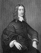 John Selden (1584-1654). Engraved by W.Holl  and published in Portraits And Memoirs Of The Most Illu