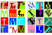 Colored Initials