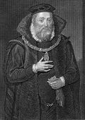 James Hamilton (1516-1575). Engraved by W.H.More and published in Lodge's British Portraits encyclop