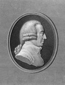 Adam Smith (1723-1790). Engraved by W.Holl and published in The Gallery of Portraits with Memoirs en