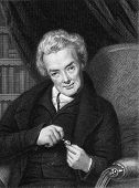William Wilberforce (1759-1833). Engraved by E.Scriven and published in The Gallery Of Portraits Wit