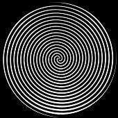 Black & branco espiral