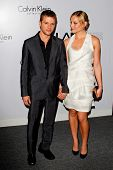 LOS ANGELES, CA - JAN 28: Ryan Phillippe and Abby Cornish at Calvin Klein Collection & Los Angeles Nomadic Division 1st Annual Celebration on January 28, 2010 in Los Angeles, California