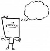cartoon blockhead