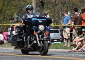 Police Motorcycle Marathon 2012 Boston