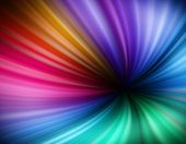 Illustration Of Rainbow Vortex Background