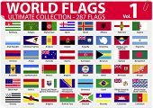 World Flags - Ultimate Collection - 287 flags - Volume 1