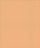 Orange Checker Plaid Paper