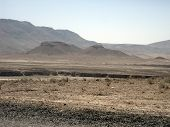 Wide and dry Desert view from Afghanistan