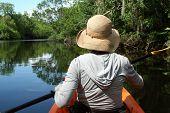 Exploring Kayaker