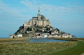 stock photo of mont saint michel  - The mount Saint - JPG