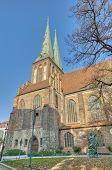 The Nikolai Kirche In Berlin, Germany