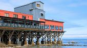 Restaurant On A Monterey California Pier