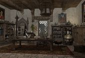 The Alchemist's Study