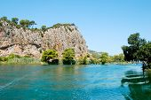 foto of dalyan  - Riverside of Dalyan in Mugla Province Turkey - JPG