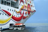Cruise Ship & Tender