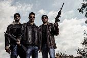 Gang Members With Guns
