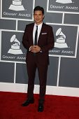 LOS ANGELES - FEB 10:  Mario Lopez arrives at the 55th Annual Grammy Awards at the Staples Center on February 10, 2013 in Los Angeles, CA