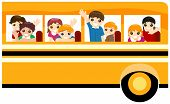 Children On School Bus
