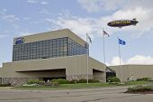 Eaa Headquarters Building And Goodyear Blimp