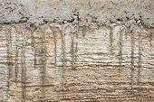 Exsudação de cimento no chão de concreto