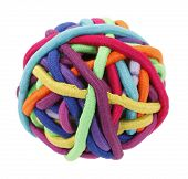 Rubber bands for hair colorful ball