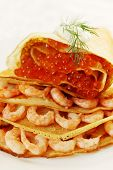 Pancake With Seafood